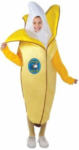 Appealing Banana Peeling Fruit Food Funny Fancy Dress Hallow