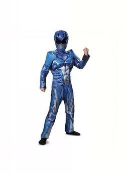 Power Rangers Boys 10-12 Blue Ranger Movie Classic Halloween