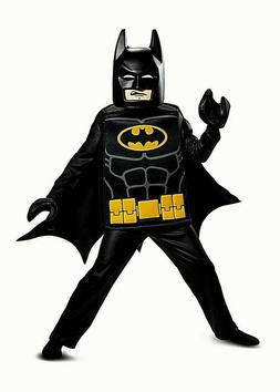 - Complete 5 Pc Costume Small 4-6 NEW Lego Batman Boys Halloween Costume