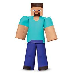 Boys Minecraft Steve Prestige Halloween Costume