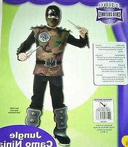 Boys New  Costume Jungle M 8 10 Deluxe Rubie's Dress up