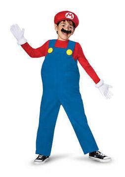 Boys Super Mario Deluxe Halloween Costume size Small 4-6