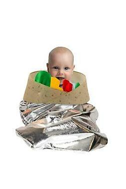 Burrito Unisex Pull Over Costume For Babies or Small Toddler