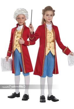 California Costumes Classical Composer Mozart Child Hallowee