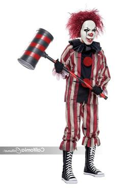 California Costumes Nightmare Clown Scary Childrens Hallowee