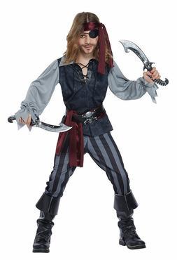 California Costumes Sea Scoundrel Pirate Child Boys Hallowee