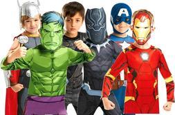 Child AVENGERS Infinity War Superhero Fancy Dress World Book