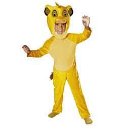 Child Boy's Disney Lion King Simba Halloween Costume Plush H