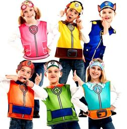 Child PAW PATROL Fancy Dress Costumes Cartoon Girls Boys Kid