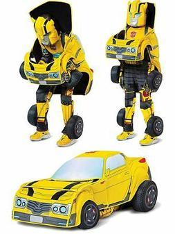 Child's Transformers Bumblebee Converting Costume Medium 7-8