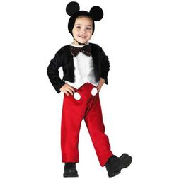 Disney Mickey Mouse Deluxe Kids size M 3T/4T Licensed Costum