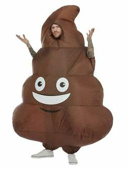 Inflatable Poo Costume Adults Mens Stag Night Fancy Dress Po