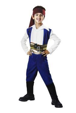 Jack Sparrow Basic Kids Costume - 4-6x