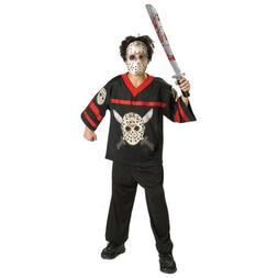 Jason Costume Teen Friday The 13th Halloween Fancy Dress