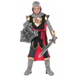 Knight Costume Kids Medieval Warrior Halloween Fancy Dress