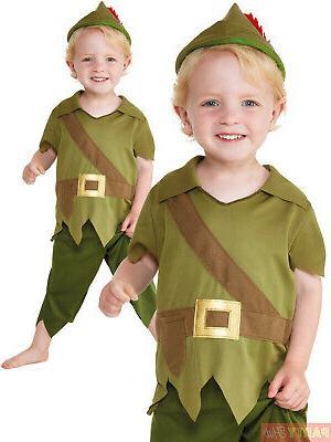baby toddler robin hood costume boys medieval