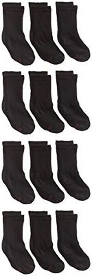 Hanes Ultimate Boys' 12-Pack Crew Socks