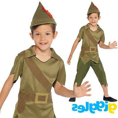 boys robin hood costume world book day