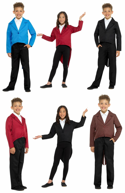 child tailcoat showman magician magic act costume