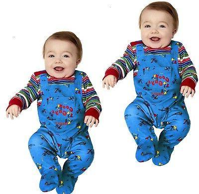 chucky baby costume babies halloween chucky doll