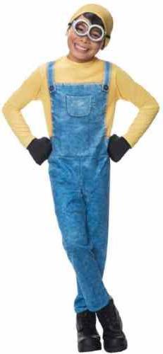 Minion Bob Despicable Me Minions Movie Fancy Dress Up Hallow