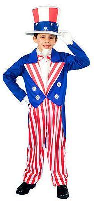 Forum Novelties Uncle Sam Patriotic Child Costume 4th of Jul