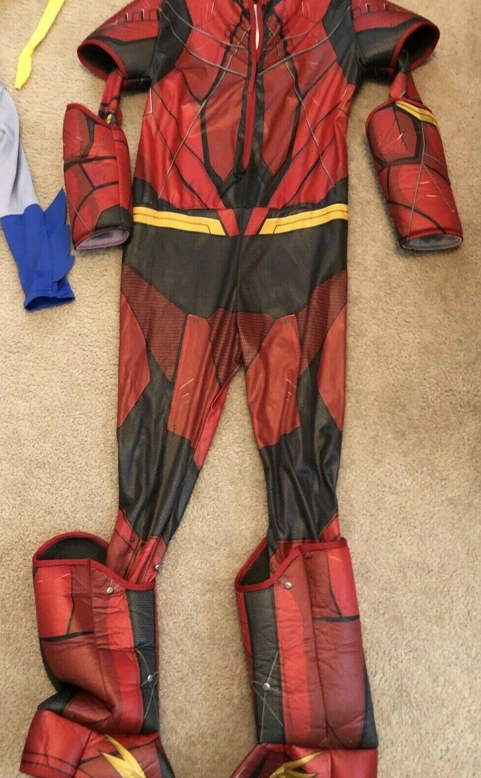The Flash L Justice League & Boy Girl