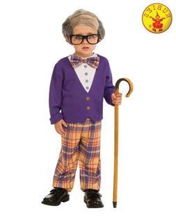 Little Old Man Grumpy Grandpa Cute Fancy Dress Halloween Tod