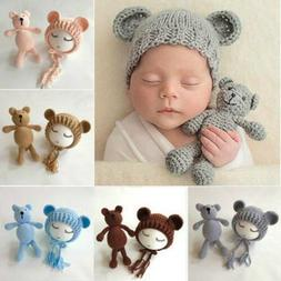 Newborn Baby Girl Boy Photography Prop Photo Crochet Knit Co