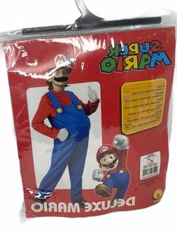Nintendo Super Mario Brothers Mario Deluxe size Small 4-6 Bo
