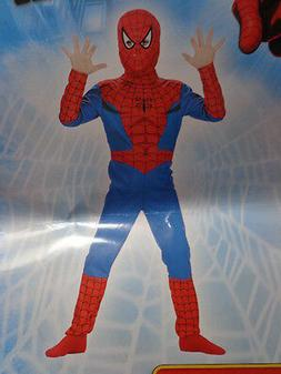 NIP Boys Disguise The Amazing SpidermanRed/Blue Costume Size