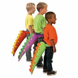 Plush Dinosaur Tails - Apparel Accessories - 6 Pieces