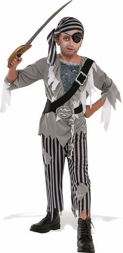 Rubie's Costume Child's Ghostly Boy Pirate Costume, Medium,