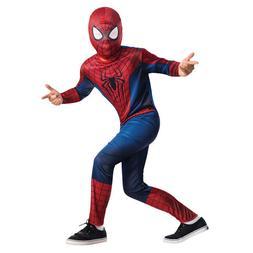 RUBIE'S THE AMAZING SPIDERMAN 2 CHILD COSTUME SET JUMPSUIT M