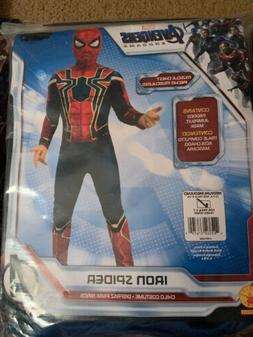 Rubies Iron Spiderman Boys Halloween Costume-Size Medium 8-1