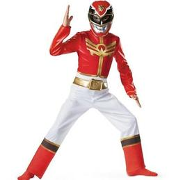 Power Rangers Size 4-6 Small Megaforce Red Standard Child Co