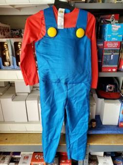 Super Mario Bros Boys Halloween Costume Mario Deluxe Costume