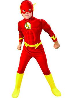 Morris Costumes Boys Superhero Flash Muscle Chest Child Cost