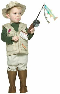 Toddler Future Fisherman Costume Rasta Imposta 9560