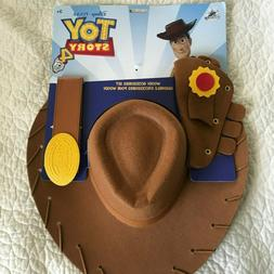Toy Story 4 Woody Accessories Set Hat Belt Cosplay Halloween