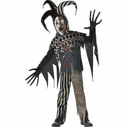 Twisted Jester Halloween Costume for Boys, Small, with Acces